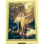 Krishna and Balarama in Vrindavan